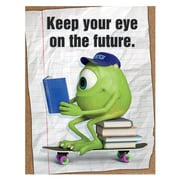 "Eureka® 17"" x 22"" Poster, Monsters University® Eye On The Future"