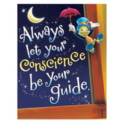 "Eureka® 17"" x 22"" Poster, Pinocchio® Conscience"