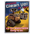 Eureka® 17in. x 22in. Poster, WALL-E® Clean Up