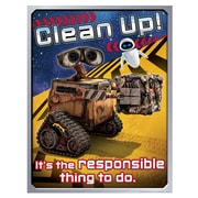 "Eureka® 17"" x 22"" Poster, WALL-E® Clean Up"