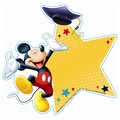 Eureka® 5 1/2in. Paper Cut Outs, Mickey Mouse Graduation