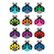 "Teacher Created Resources 2 5/8"" Mini Accents, Colorful Ladybugs"