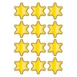 """Teacher Created Resources 2 5/8"""" Mini Accents, Western Sheriff Badges"""