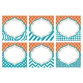 Teacher Created Resources 8in. x 8in. Large Accents, Orange & Teal Wild Moroccan