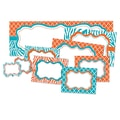 Teacher Created Resources Create & Decorate Accents, Orange & Teal Wild Moroccan