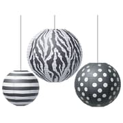Teacher Created Resources Round Paper Lantern, Big Bold Black & White