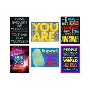 "Trend Enterprises® ARGUS® 13 3/8"" x 19"" Poster Combo Pack, Self-Esteem"