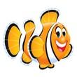 "Trend Enterprises® Sea Buddies™ 5 1/2"" Classic Accents, Fish"