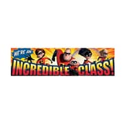 Eureka® PreK - 12th Grade Incredible Class Classroom Banner, Incredibles
