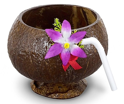 S&S Coconut Cups With Flower, 12/Pack 841804