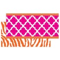 Teacher Created Resources infant - 12th Grade Double Sided Border, Pink/Orange Wild Moroccan