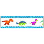 """TREND T-85114 35.75' x 2.75"""" Straight Dino-Mite Pals Bolder Borders, Multicolor"""
