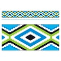 Trend Enterprises® PreK - 12th Grade Aztec Bolder Border, Blue
