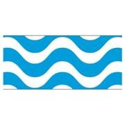 Trend Enterprises® PreK - 12th Grade Bolder Border, Blue Wavy