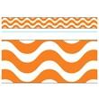 Trend Enterprises® PreK - 12th Grade Bolder Border, Orange Wavy