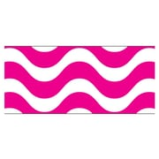 Trend Enterprises® PreK - 12th Grade Bolder Border, Pink Wavy
