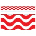 Trend Enterprises® PreK - 12th Grade Bolder Border, Red Wavy