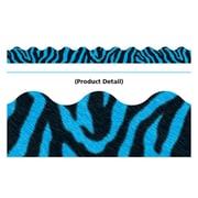 Trend Enterprises® PreK - 12th Grade Terrific Trimmer, Blue Zebra