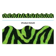 Trend Enterprises® PreK - 12th Grade Terrific Trimmer, Green Zebra