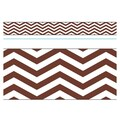 Trend Enterprises® Toddler - 12th Grade Bolder Border, Chocolate Looking Sharp