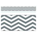 Trend Enterprises® Toddler - 12th Grade Bolder Border, Gray Looking Sharp