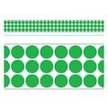 Trend Enterprises® Toddler - 12th Grade Bolder Border, Green Big Dots