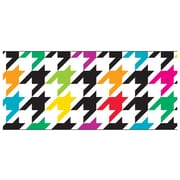 Trend Enterprises® Toddler - 12th Grade Bolder Border, Multicolor Houndstooth