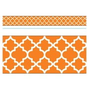 Trend Enterprises® Toddler - 12th Grade Bolder Border, Orange Moroccan