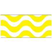 Trend Enterprises® Toddler - 12th Grade Bolder Border, Yellow Wavy
