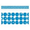 Trend Enterprises® Toddler - 12th Grade Sparkle Plus Bolder Border, Blue Big Dots