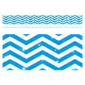 Trend Enterprises® Toddler - 12th Grade Sparkle Plus Bolder Border, Blue Looking Sharp