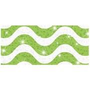 Trend Enterprises® Toddler - 12th Grade Sparkle Plus Bolder Border, Lime Wavy