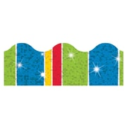Trend Enterprises® Toddler - 12th Grade Sparkle Plus Terrific Trimmer, Cheerful Stripe-Tacular