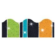 Trend Enterprises® Toddler - 12th Grade Sparkle Plus Terrific Trimmer, Groovy Stripe-Tacular