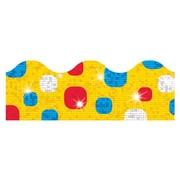 Trend Enterprises® Toddler - 12th Grade Sparkle Plus Terrific Trimmer, Sunshine Super Dots