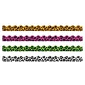 Trend Enterprises® Toddler - 12th Grade Terrific Trimmer & Bolder Border Variety Pack, Leopard Spots