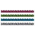 Trend Enterprises® Toddler - 12th Grade Terrific Trimmer & Bolder Border Variety Pack, Zebra Stripes