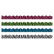 Trend Enterprises® Toddler - 12th Grade Terrific Trimmer & Bolder Border Variety Pack, Zebra Stripes