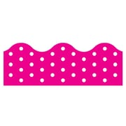 Trend Enterprises® Toddler - 12th Grade Terrific Trimmer, Pink Polka Dots