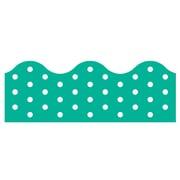 Trend Enterprises® Toddler - 12th Grade Terrific Trimmer, Teal Polka Dots