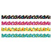 Trend Enterprises® Toddler - 12th Grade Trimmer & Bolder Border Variety Pack, Super Dots