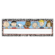 Eureka® Prek - 12th Grade Composition Tented Name Plate, Peanuts