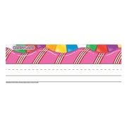 Eureka® Prek - 12th Grade Tented Name Plate, Candy Land