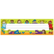 Teacher Created Resources Prek - 12th Grade Flat Name Plate, Fantasic Kids