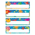 Trend Enterprises® Desk Toppers® Prek - 3rd Name Plate Variety Pack, Sea Buddies
