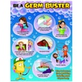 Teacher Created Resources Be A Germ Buster Chart, Grade PreK - 6th