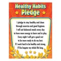 Teacher Created Resources Healthy Habits Pledge Chart, Grade 1st - 6th