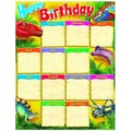 Trend Enterprises® Birthday Discovering Dinosaurs™ Learning Chart, Grade 1st - 8th