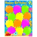 Trend Enterprises® Birthday Sea Buddies™ Learning Chart, Grade PreK - 3rd