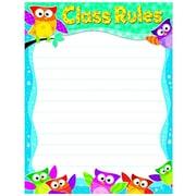 Trend Enterprises® Class Rules Owl-Stars!® Learning Chart, Grade PreK - 5th